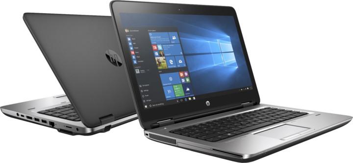 HP ProBook 645 G3, černá