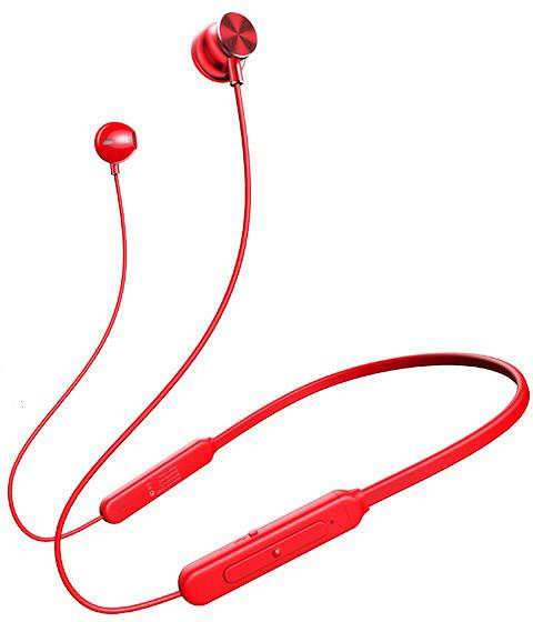 USAMS YD-S1 Sport Stereo Bluetooth Headset, červená