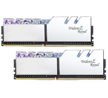 G.SKill TridentZ Royal 16GB (2x8GB) DDR4 3200 CL16, stříbrná