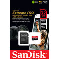SanDisk Micro SDHC Extreme Pro 32GB 100MB/s A1 UHS-I U3 V30 + SD adaptér