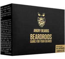Angry Beards Beardroids vitamíny na růst vousů 60 kapslí - 0752993127324