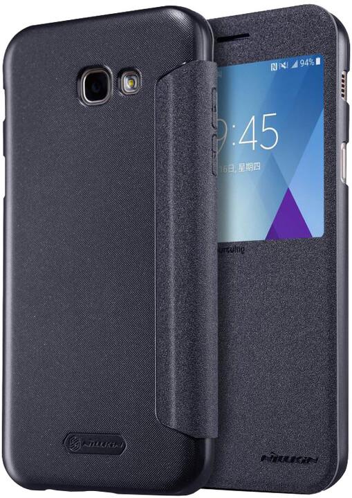 Nillkin Sparkle S-View pouzdro pro Samsung A520 Galaxy A5 2017 - černé