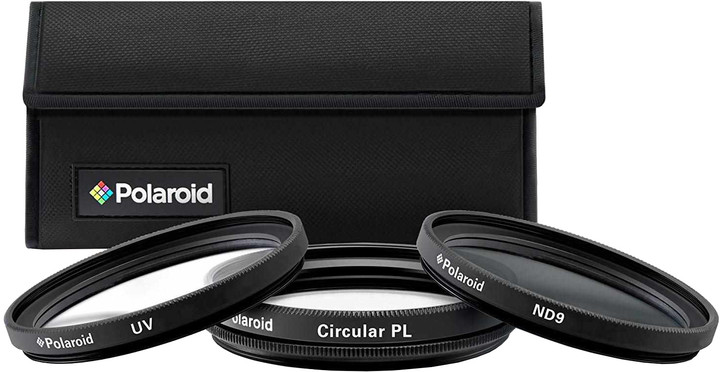 Polaroid Filter Kit 67mm MC UV, CPL, ND9