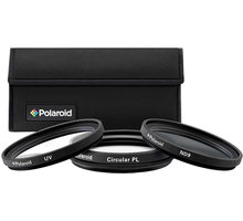 Polaroid Filter Kit 67mm MC UV, CPL, ND9 - PL3FILND67
