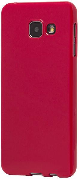 EPICO pružný plastový kryt pro Samsung Galaxy A3 (2016) SPARKLING - červený