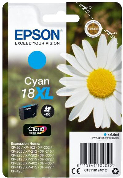 Epson C13T18124012, cyan
