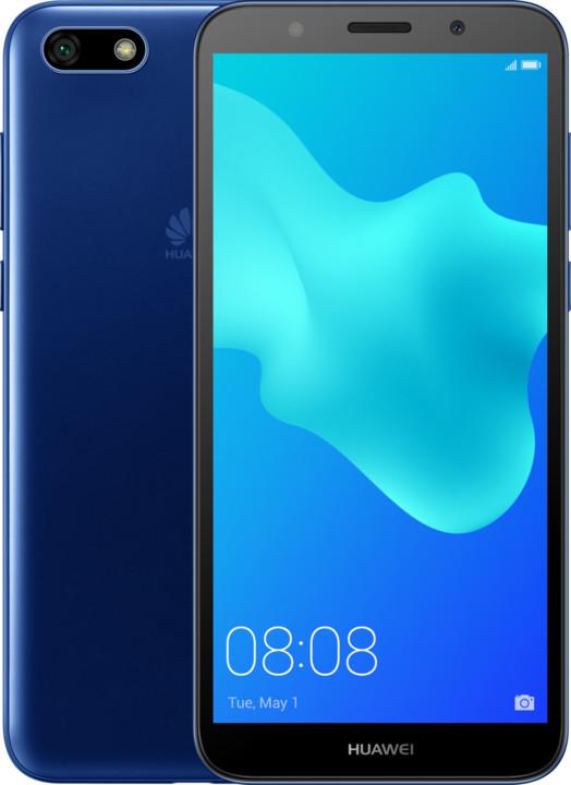 Huawei Y5 2018, modrá