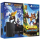 PlayStation 4 Slim, 500GB, černá + Crash Bandicoot + Ratchet & Clank  + Samolepky Crash Bandicoot + PlayStation Magazín v ceně 100 Kč