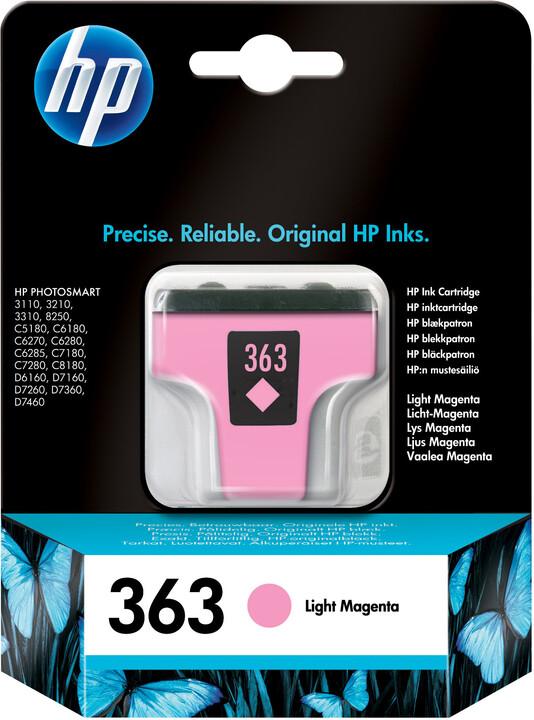 HP C8775EE, no.363, světle červená
