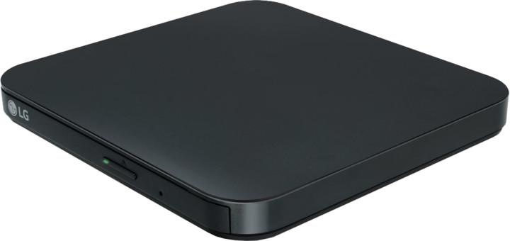 LG GP95EB70, externí, slim, USB, připojitelná k Android, černá