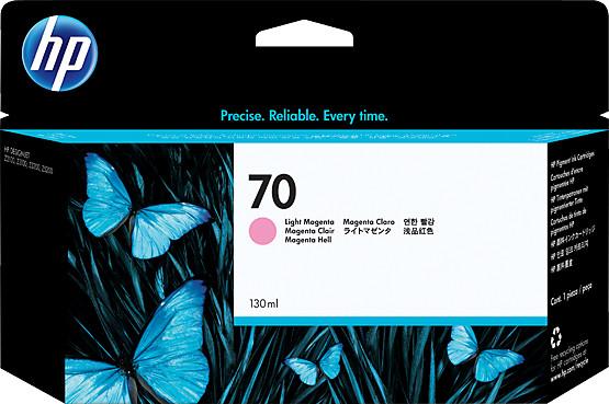 HP C9455A náplň č.70, světle fialová
