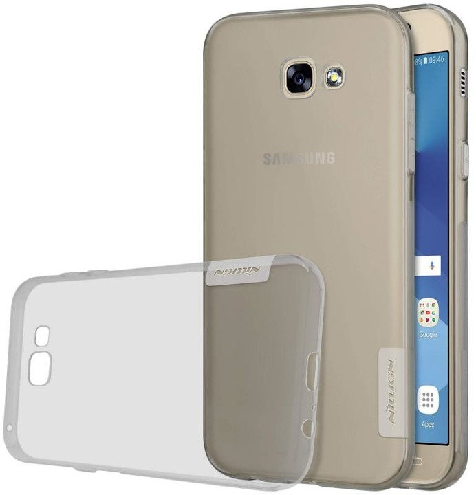 Nillkin Nature TPU pouzdro pro Samsung A320 Galaxy A3 2017 - šedá