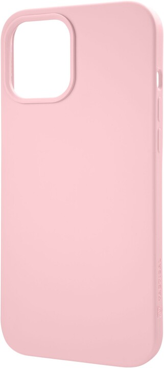 "Tactical silikonový kryt Velvet Smoothie pro iPhone 12 Mini (5.4""), růžová"