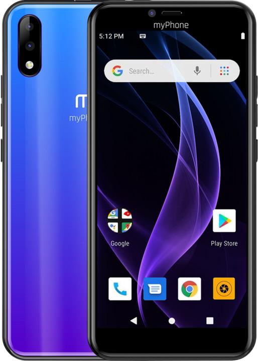 myPhone Prime 4 Lite, 2GB/16GB, Blue
