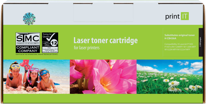 PRINT IT alternativní HP CB436A LJ P1505 toner