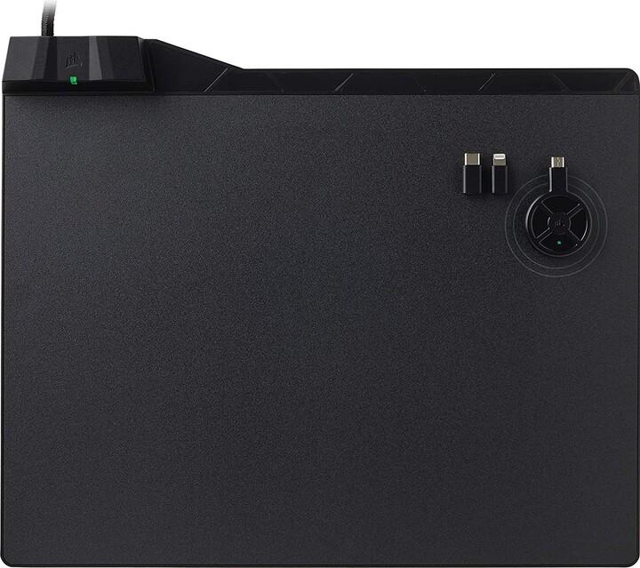 Corsair MM1000 Qi Wireless Charging, pevná