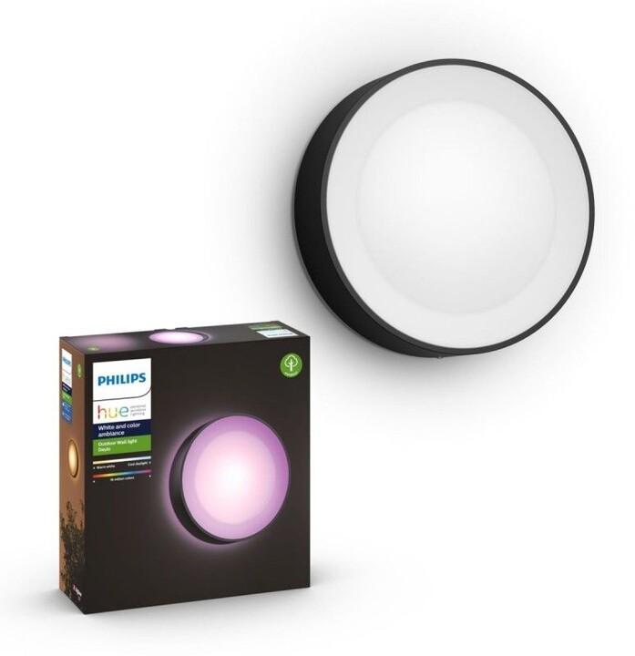 Philips Venkovní svítidlo HUE Daylo, LED, RGB, 15W, černá