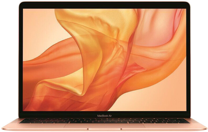 Apple MacBook Air 13, 1.6 GHz, 128GB, zlatá (2019)