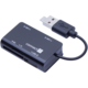 CONNECT IT OTG čtečka karet + USB hub microUSB/USB konektor SLIDE
