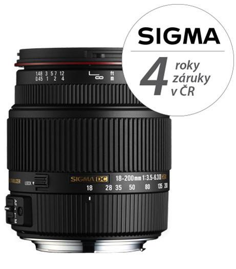 SIGMA 18-200/3.5-6.3 ll DC HSM pro SONY