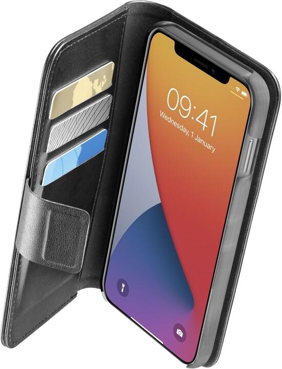 CellularLine flipové pouzdro Book Agenda 2 pro Apple iPhone 12 Pro Max, černá