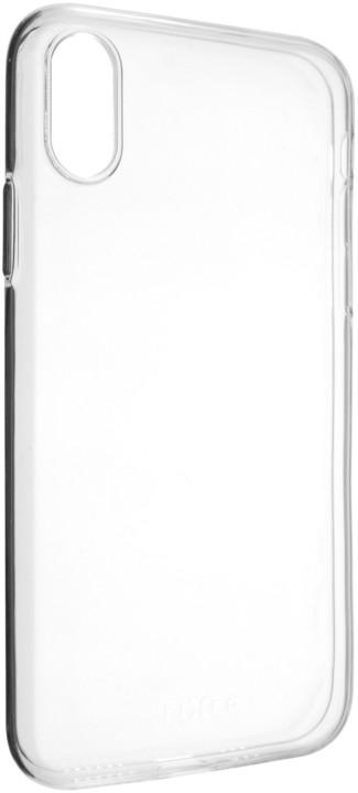 FIXED TPU gelové pouzdro pro Apple iPhone XS, čiré