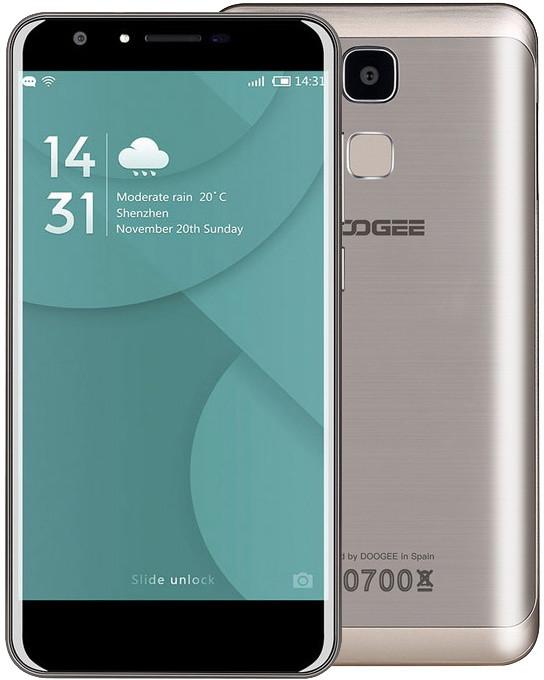 DOOGEE Y6 - 16GB, zlatá
