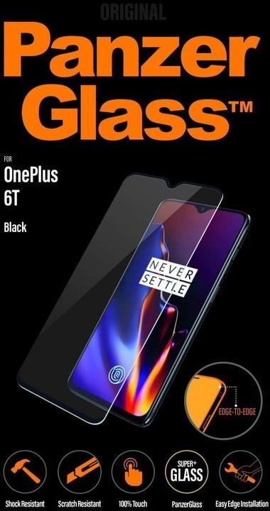 PanzerGlass Edge-to-Edge pro OnePlus 6T, černé