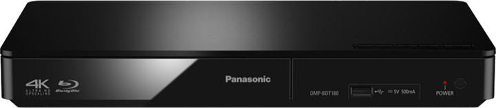 Panasonic DMP-BDT180EG, 3D, černá