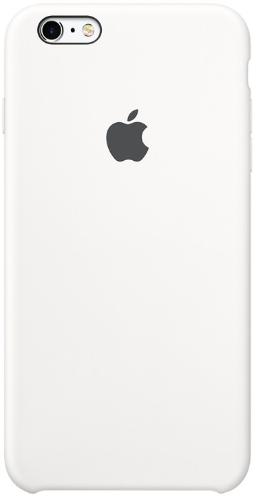 Apple iPhone 6s Silicone Case, bílá