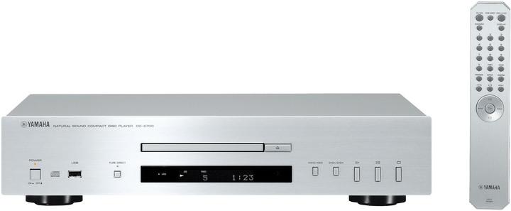 Yamaha CD-S700, stříbrná
