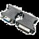 Gembird CABLEXPERT kabel DVI 24+5 pin -> VGA 15 pin, černá