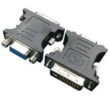 Gembird CABLEXPERT kabel DVI 24+5 pin -> VGA 15 pin, černá - A-DVI-VGA-BK