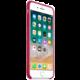 Apple silikonový kryt na iPhone 8 Plus / 7 Plus, vínová