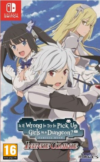 Is It Wrong to Pick Up Girls in a Dungeon (SWITCH)
