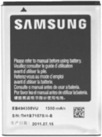 Samsung EB464358VU baterie 1300mAh Li-Ion pro Samsung S6500 Galaxy mini 2/S6102 Galaxy Y Duos (Bulk)