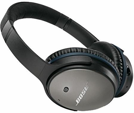 Bose QuietComfort 25, Apple, černá