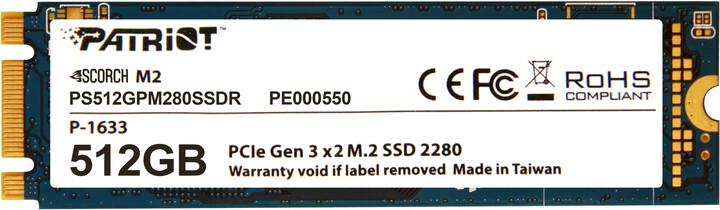 Patriot Scorch, M.2 - 512GB