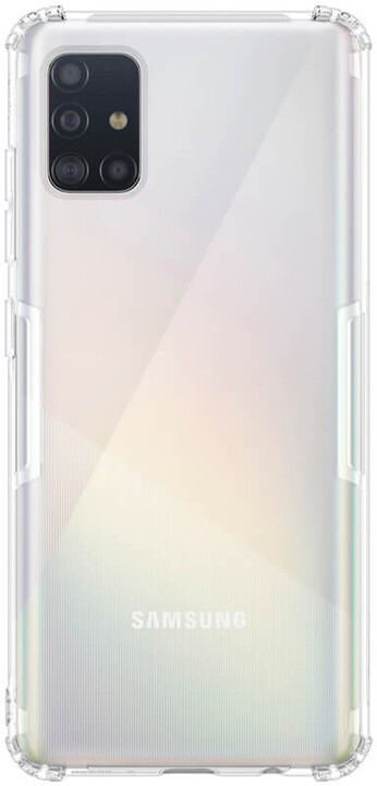 Nillkin Nature TPU pouzdro pro Samsung Galaxy A51, transparentní