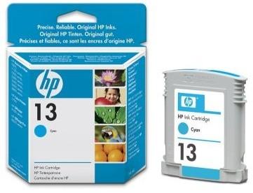 HP C4815AE, no.13, azurová