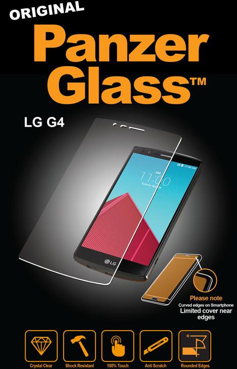 PanzerGlass Standard pro LG G4, čiré