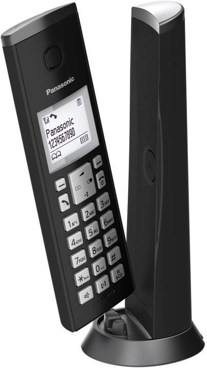 Panasonic KX-TGK210FXB, černý