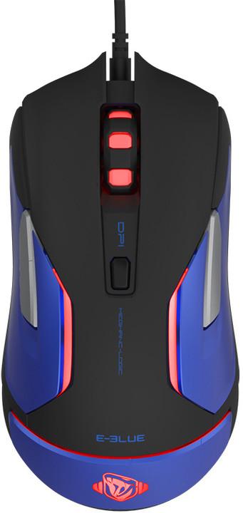 E-Blue Auroza Gaming V2, černá/modrá