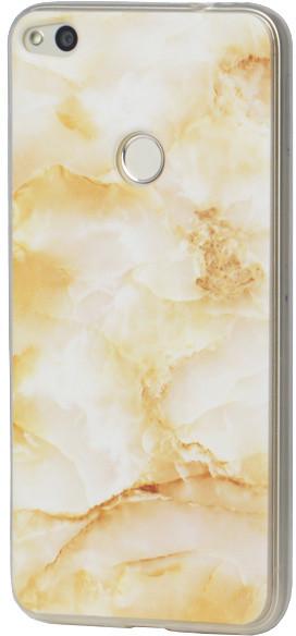 EPICO plastový kryt pro Huawei P9 Lite 2017, MARBLE - gold