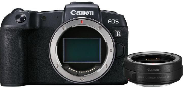 Canon EOS RP, tělo + EF-EOS R adaptér