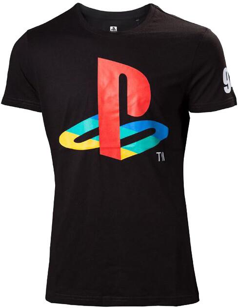 Tričko Playstation: Classic Logo And Colors (L)