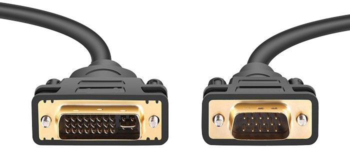 PremiumCord DVI-VGA kabel 3m