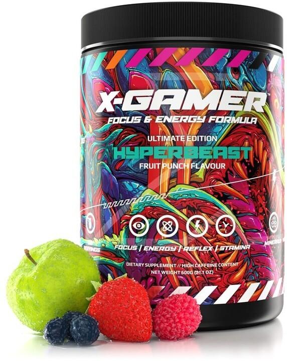 Doplněk stravy X-Gamer X-Tubz - Hyperbeast, 600g