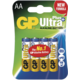 GP AA Ultra Plus, alkalická 4ks