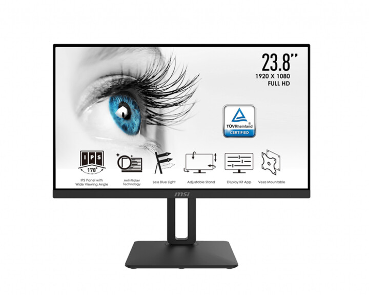 "MSI PRO MP242P - LED monitor 24"""